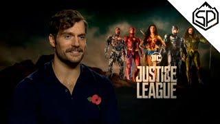 Генри Кавилл об усах и чёрном костюме Супермена | Лига Справедливости
