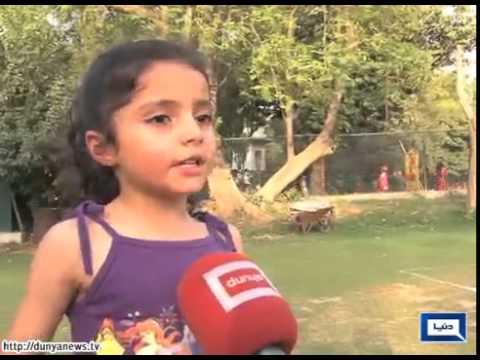 Children enjoy sports during summer vacations