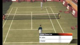 Llodra vs Becker Top Spin 3 Ps3