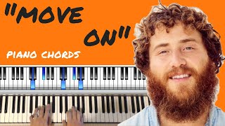 """How To Play """"Move On"""" - Piano Chords Lesson - Mike Posner Video"""