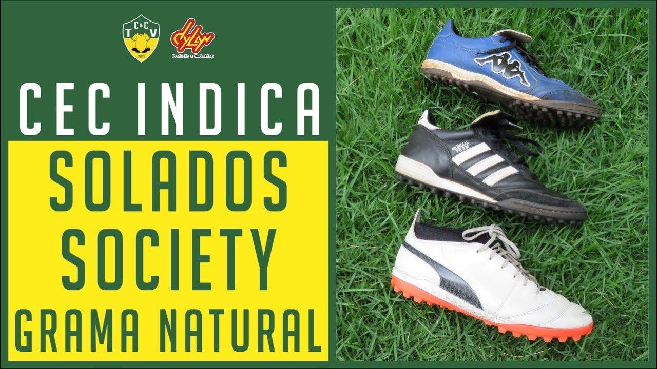 7dedb096ea MELHORES CHUTEIRAS SOCIETY PARA GRAMADOS NATURAIS - CAMISAS E ...
