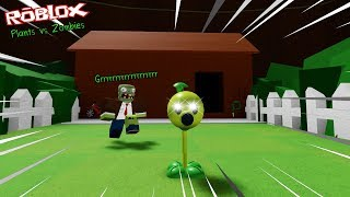 Roblox : Plants vs Zombies โรบล็อคพืชปะทะซอมบี้ โคตร EPIC