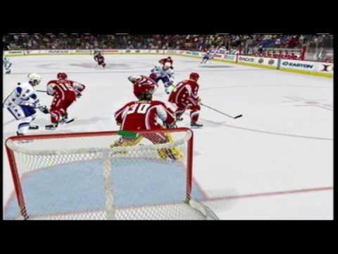NHL Western VS Eastern Hockey Game