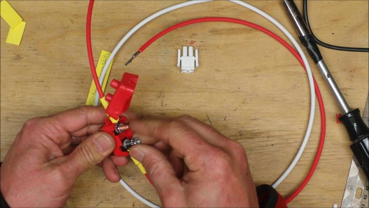 Coleman Battery Harness Assembly - YouTube