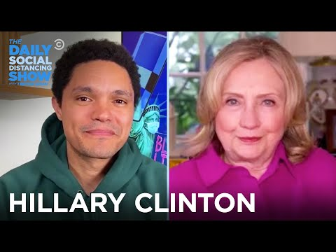 Hillary Clinton - Voter Suppression, Roger Stone & Trump | The Daily Social Distancing Show
