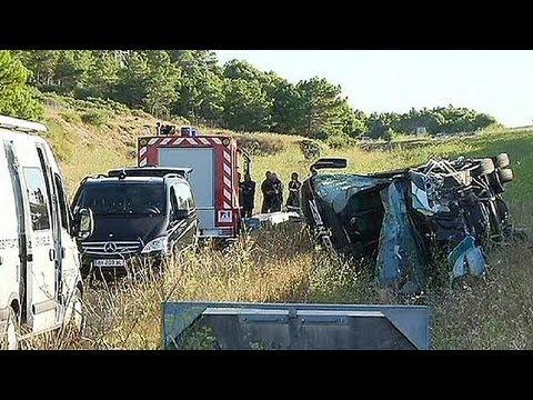 Pageiro ume discussão violenta na origem de acidente mortal em França