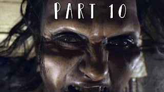 RESIDENT EVIL 7 Walkthrough Gameplay Part 10 - The Descent (RE7)