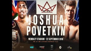 Anthony Joshua V Alexander Povetkin LIVE Stream Fight Chat
