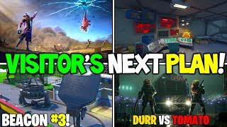 "*NEW* Fortnite: ""Visitor's Next Plan!"" Season X Storyline EXPLAINED + SECRETS Solved! (Week 3)"