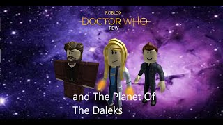 ROBLOX Doctor Who and the Planet of the Daleks Teaser 1