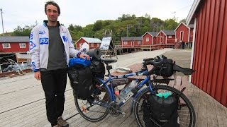 George From Romania Travels Across Europe On His Bicycle