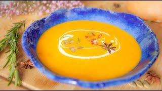 Суп пюре из тыквы от шеф повара! Вкусно и полезно! Рецепт из тыквы. Тыквенный суп.