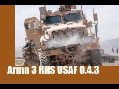 Arma 3 RHS United States Armed Forces 0.4.3 Overview (2017)