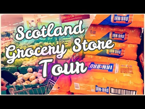 🍎 Morrisons - Scotland/UK Grocery Store Tour! 🌍 // How Much Does Food Cost In The UK?