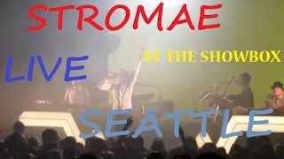 Stromae at the Showbox Seattle on 10.1.2014 LIVE