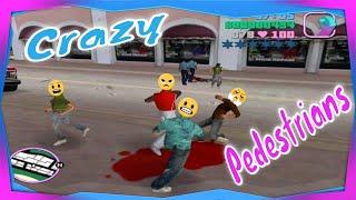 Grand Theft Auto: Vice City - Crazy Pedestrians Returns! #20 (PC Version)