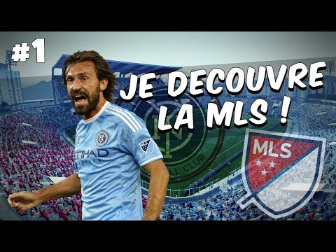 FIFA 17 - Carrière Manager / JE DECOUVRE LA MLS ! #1