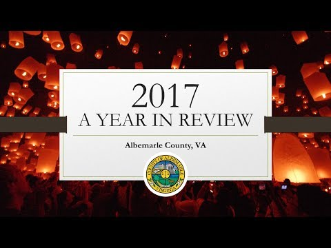Albemarle County 2017 Year in Review