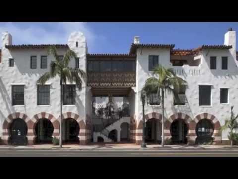California - Spanish Colonial Revival Architecture