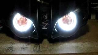 08-11 CBR 1000RR #4 55w HID / Bi-Xenon Projector Headlight Retro-Fit by Sick HIDs