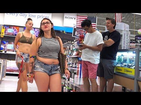 THE POOTER - Farting At Walmart (Kid Asks