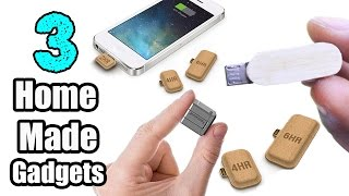 3 Incredible HomeMade Gadgets for your Smartphones / DIY Smartphone Gadget