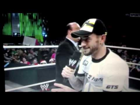 Cm Punk Rips The Pittsburgh Steelers