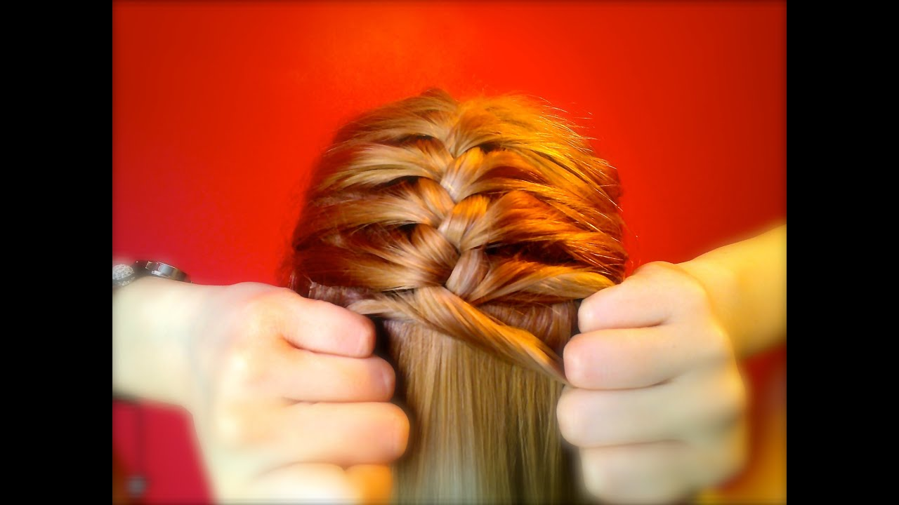 How to french braid on yourself by carlytoffle youtube ccuart Choice Image