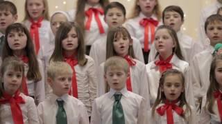 """Детский хор """"Небесное сияние"""". Рождество 2017г."""