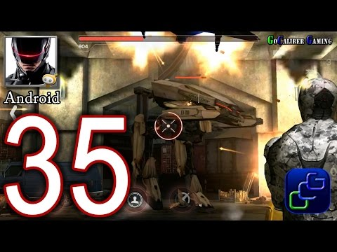 RoboCop Android Walkthrough - Part 35 - Tier 5: Hostage, Onslaught, OCP 5 Final Boss