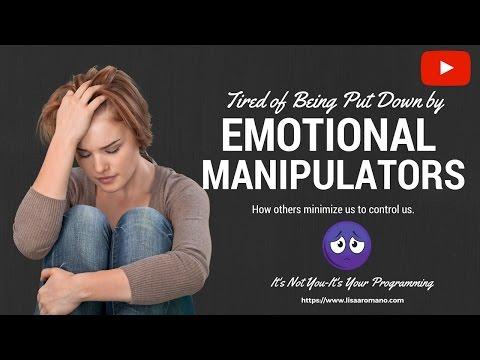 Emotional Manipulators-Toxic People Who Minimize Us Its