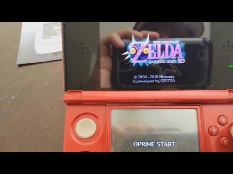 SKY3DS la Nueva Flashcard para ROMs del 3DS compatible CON TODO y Majora's Mask