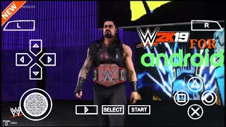 [Only in 160 mb ] wwe 2k19 in android
