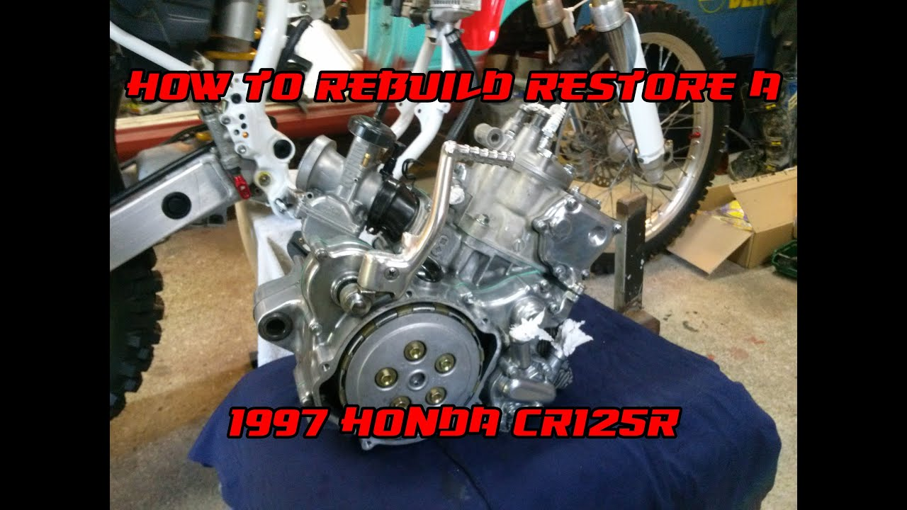 how to rebuild a 1997 honda cr125 better than new restoration rh youtube com 1997 cr125r engine diagram honda cr125 engine diagram