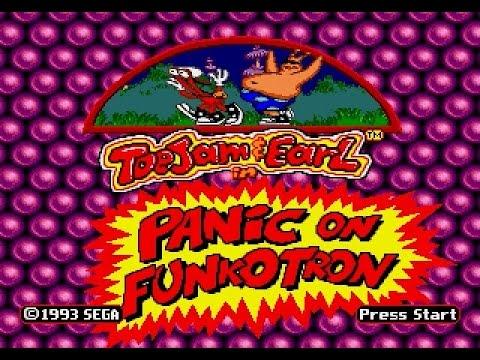 Mega Drive Longplay [424] Toejam And Earl In Panic On Funkotron