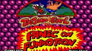 Mega Drive Longplay [424] Toejam and Earl in Panic on Funkotron