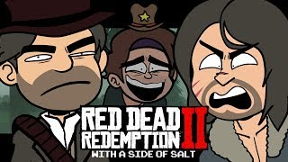 Red Dead Redemption 2 with a side of salt