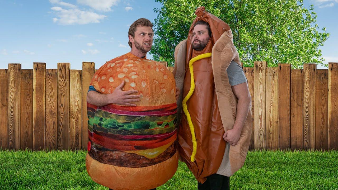 Brat vs. Burger