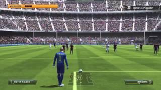 Barcelona vs Real Madrid | El Clasico | Fifa 14