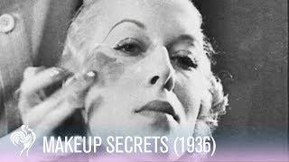 Vintage Make Up Tutorial (1936)