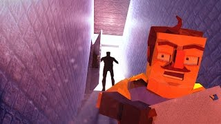 Minecraft | Hello Neighbor - BASEMENT DOOR ENDING! (Hello Neighbor in Minecraft)