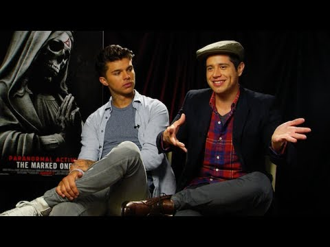 Andrew Jacobs & Jorge Diaz Interview - PARANORMAL ACTIVITY ...