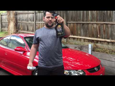 How to restore BLACK TRIM on your car