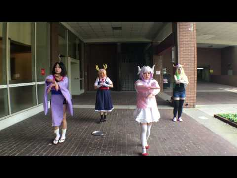 Maid Dragon Opening  Cosplay Dance Cover [青空のラプソディ]