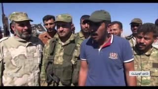 الجيش الحر ينتزع بلدة دابق من تنظيم الدولة