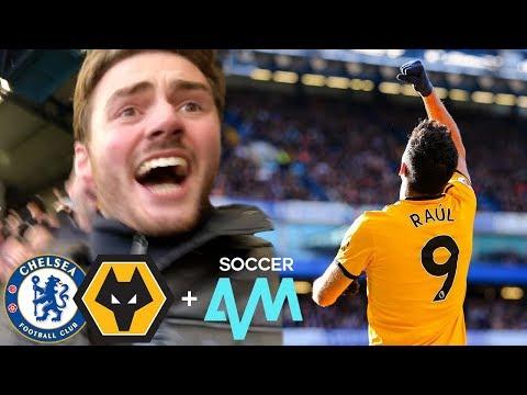 JIMENEZ PILES ON THE BLUES! Chelsea Vs Wolves 1-1 Matchday Vlog ft. Soccer AM