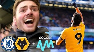 JIMENEZ PILES ON THE BLUES! Chelsea Vs Wolves 1-1 Matchday Vlog ft. Soccer AM