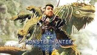 GREAT DEVOURER, GREAT JAGRAS!! - Monster Hunter: World [BETA]