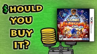 Sonic Boom Fire and Ice (3DS) - Should You Buy It? - FUgameCrue