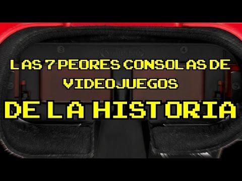 Las 7 peores consolas de videojuegos de la historia